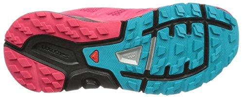 Salomon Womens Sense Pro Max Door De Mens Veroorzaakte, Mesh Trail Running Sneakers Virtual Pink, Black, Email Blue