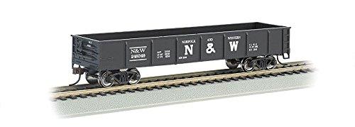 Gondola Ho Scale - Bachmann Industries 40' Gondola - Norfolk & Western (HO Scale)