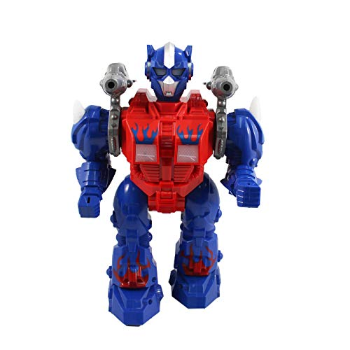 P&F Super Action Figure Robot with Missile Launch Function, Flashing Lights, Walking & Sounds - 9