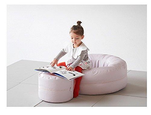 iloom Soft Donut Infant Kids Children Sofa Aqua Purple by i-loom