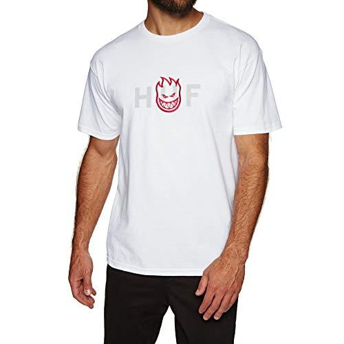 Og Logo T-shirt - HUF Spitfire Og Logo Short Sleeve T-Shirt Large White
