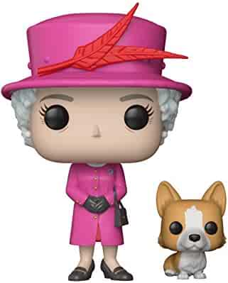 Funko POP!: Royal Family - Queen Elizabeth II Collectible Figure