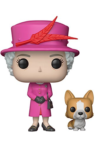 Funko POP!: Royal Family - Queen Elizabeth II Collectible Figure (Elizabeth Stuff)