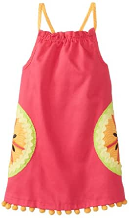 Mud Pie Little Girls' Tutti Frutti Dress, Pink, 2T