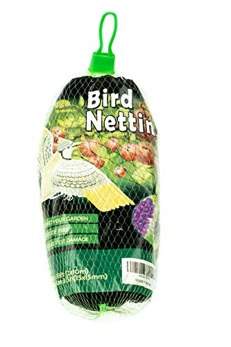 PetiDream Economical Bird Netting-Protect Blueberry,Strawberry,Plants and Vegetables from Ows,Birds in 6.5ftx 33ft,Black Bird Of Paradise Cover