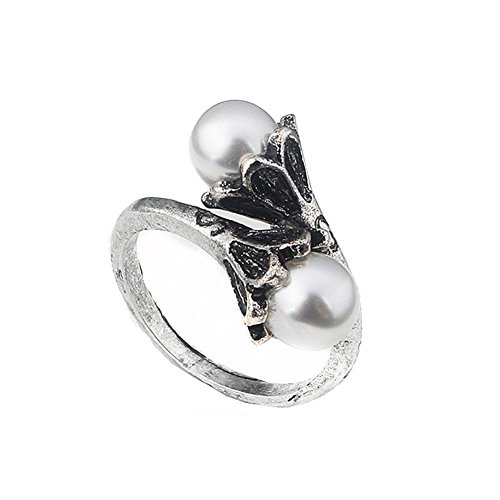 xcoser Daenerys Ring with Pearl Costume Accessories for Women