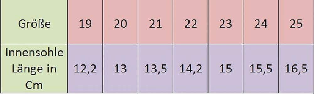 19 bis 25 Gr MADE IN EU Kinder Hausschuhe 13-102 12 bis 16 cm