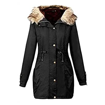 Amazon.com: Rela Bota Womens Hooded Warm Winter Faux Fur