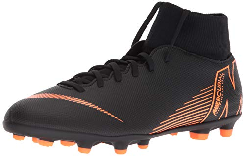 Nike Superfly 6 Club FG/MG Mens Football Boots AH7363 Soccer Cleats (UK 9 US 10 EU 44, Black Total Orange White 081) (The Best Football Boots)