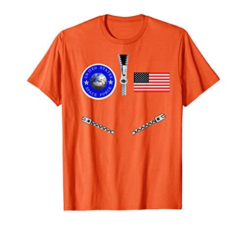 (Space Force Halloween Costume T-Shirt | Flight Suit)