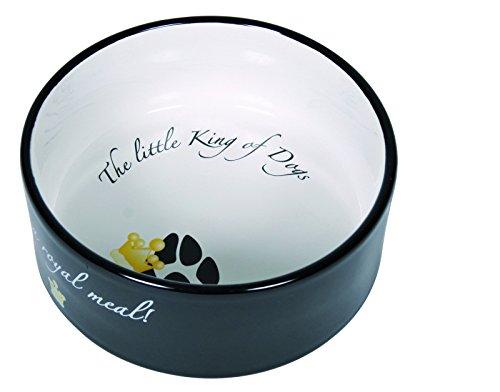 Trixie Gamelle Céramique King of Dogs pour Chiens 1,2 L 20 cm