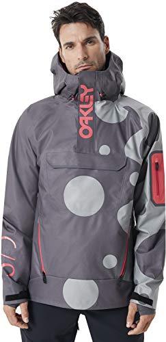 Oakley 412729 Men's 10K 3L Shell Po Jacket, Staple Bubble - L (Oakley Snowboard)