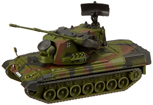 (Simba Dickie 452635500Gepard Anti-Aircraft Tank BW 1: 87)