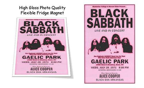 Black Sabbath Alice Cooper 1971 3