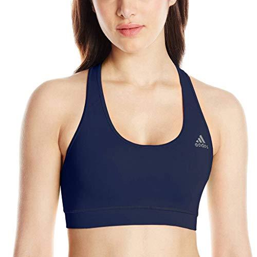 adidas Women's Techfit Climalite Sports Bra (Col.Navy/Tribe Purple, Small)
