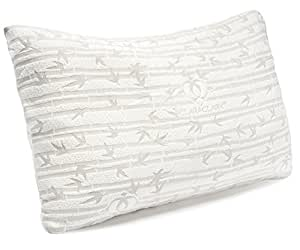 Amazoncom clara clark memory foam pillow king cal king for California king pillows