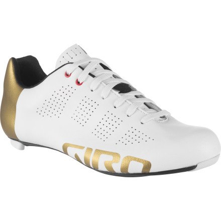 Giro Empire Shoes - Gold Limited Edition - Men's Limited Edition Gold/Matte White, 43.0