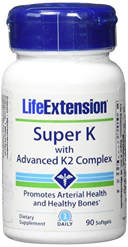 생명 확장 슈퍼 K 캡슐, 1ce_e 팩 (1 x 90 개)