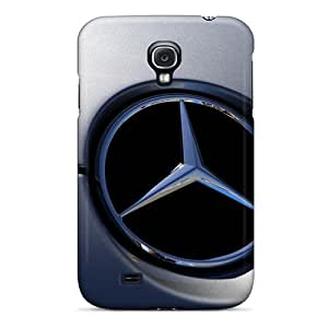 Melissaca Premium Protective Hard Case For Galaxy S4- Nice Design - Mercedes Benz Logo