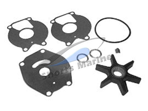 Hp Mercury Outboard Motor - OEM Mercury Mariner 15-25HP Outboard Water Pump Impeller Repair Kit 47-85089T 4