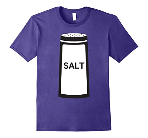 Mens Salt Shaker Funny Couples Halloween T-Shirt XL (Fun Homemade Halloween Costumes For Couples)