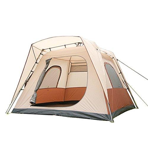 Automatique Extérieur Tente De Camping 5-8 Personnes Imperméabilisent Les Tentes De Double Couche Hydraulique Anti-UV Anti-Moustiques