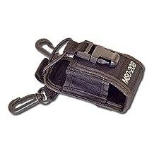Generic 3 in 1 Multi-Function Universal Pouch Bag Holster Case for GPS PMR446 Motorola Kenwood Midland ICOM Yaesu Two Way Radio Transceiver Walkie Talkie 20B