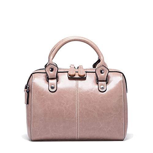 Xuanbao Totes Colore delle tracolla moda in da Borse donne tracolla Borsa tracolla borsa femminile Grigio Rosa a borsa a per tracolla pelle Borsa donna a Memoria a gqySrZg