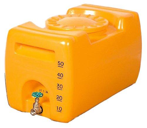 【合同産業】 ローリータンク 1000L オレンジ 貯水槽 貯水タンク B008OAP7GA 16700 1000リットル  1000リットル