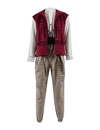 Adult Aladdin 2019 Pants Outfits Halloween Costume Cosplay for Men (M, Outfit 01)