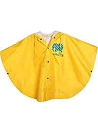 GudeHome Unisex Kid's Raincoat Baby Hooded Waterproof Rain Poncho