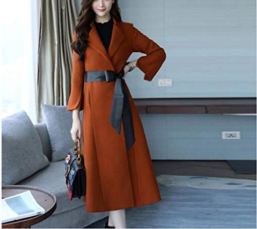 autunno in donna autunno Cappotto inverno alta giacca per caldo moda antivento di inverno caramello di donna e cotone alta lana gamma quercia inverno Ab 5t7qxnCwRt