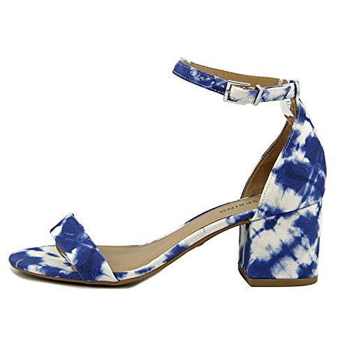 Call It Spring Womens Stangarone Open Toe Casual Ankle Strap Sandals White/Navy aZfQ2QJm