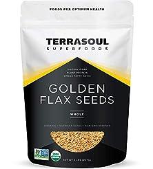 Terrasoul Superfoods Organic Golden Flax...