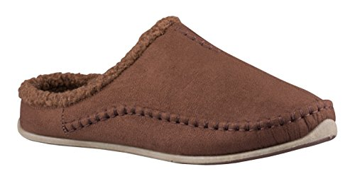 Clog P Outdoor R Mens Chocolate Slipper O Cushioned Infoor Stags U Sock Nordic Deer S qx7Rw1gHB