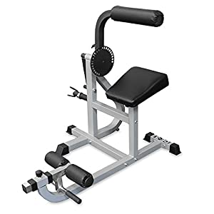 Valor Fitness DE-5 Plate Loaded Ab / Back Machine to Strengthen Lower Back and Core