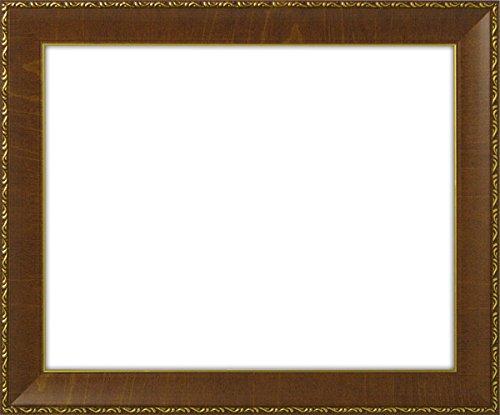 賞状額縁 8139/ブラウン A2(594×420mm) 前面ガラス仕様 B01G2YDYAK