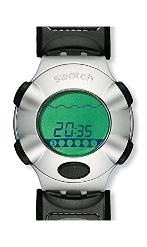 Swatch - Reloj Swatch - YQS1003L - Virtual Wave L - YQS1003L: Amazon.es: Relojes