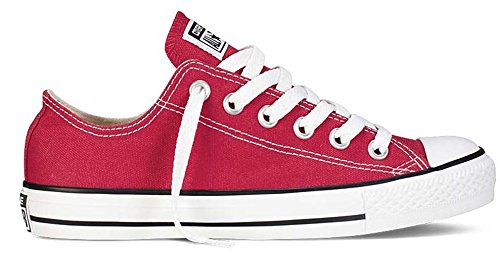Converse Unisex Chuck Taylor All Star Low Ox Red Sneaker – 6 B(M) US / 4 D(M) US