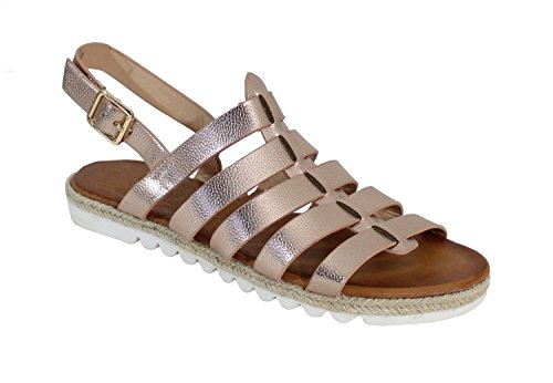 By Shoes - Sandalias para Mujer Marrón