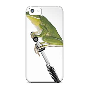 High Impact Dirt/shock Proof Case Cover For Iphone 5c (jumping Frog)