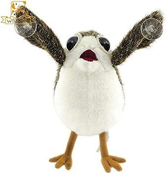 changshuo Juguete de Peluche Cute Birds Soft Movie War Last Jedi Peluches Peluches Figura Muñecas para Niños Decoración Regalos