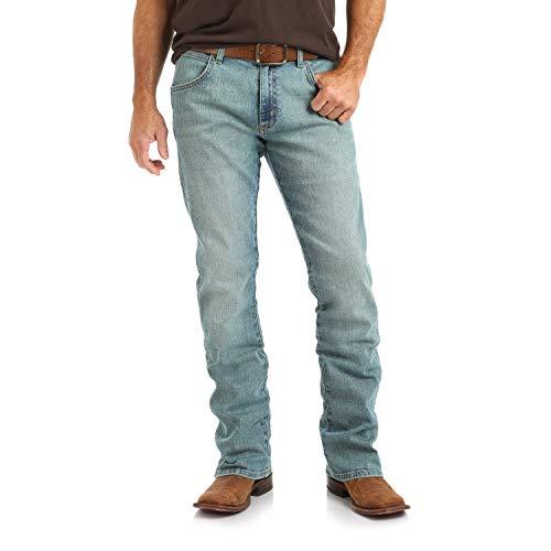 (Wrangler Men's Retro Slim Fit Boot Cut Jean, Rockdale, 33X36)