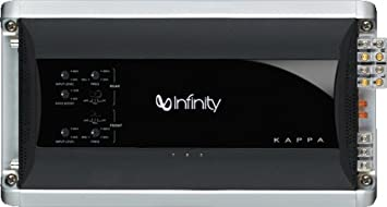 Infinity Kappa FOUR - Amplificador para coche (600 W RMS, 4 canales),