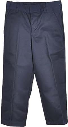 French Toast Uniforms Boys' Slim Double Knee Pant (Navy 4 Slim)