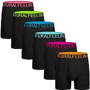 5Mayi Mens Underwear for Men Boxer Brief Cotton Men's Boxer Briefs Pack S M L XL