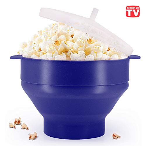 Microwaveable Silicone Popcorn Popper