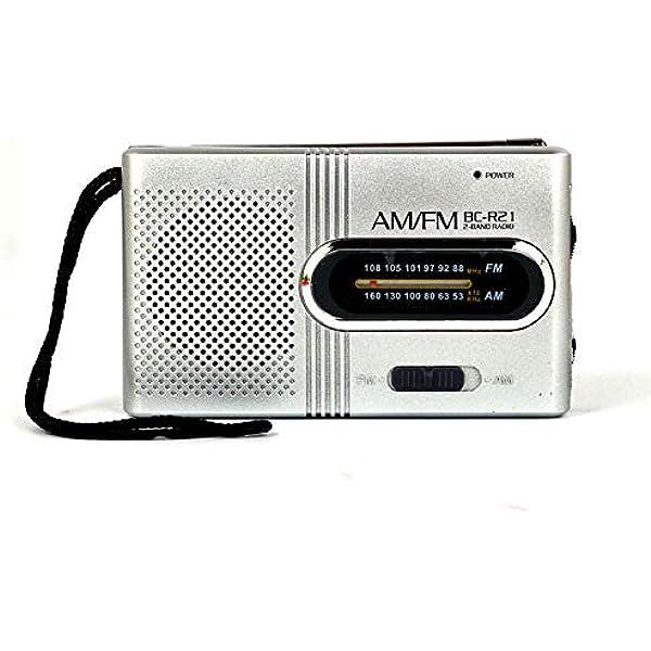 Mini Radio AM/FM Portátil, Altavoz Receptor Mundial Antena ...