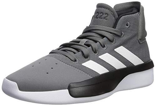 adidas Men's Pro Adversary 2019, Grey/White/Shock Cyan, 12 M US