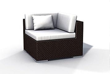 Amazonde Gartenmöbel Rattan Couch Espace Ecksofa Inkl Kissen